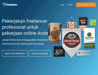 freelancer.co.id screenshot