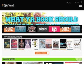 Thumbshot of Epicreads.com
