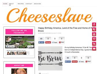 Thumbshot of Cheeseslave.com
