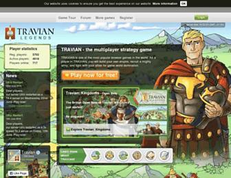 Thumbshot of Travian.co.uk