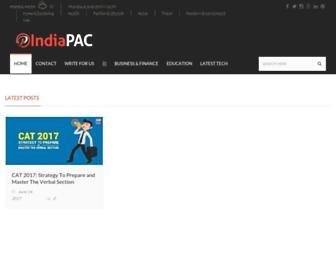 indiapac.org screenshot