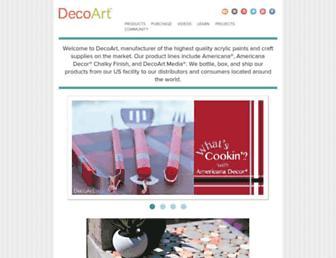 decoart.com screenshot