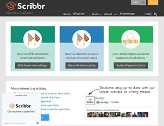 scribbr.com screenshot