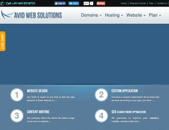 Thumbshot of Avidwebsolutions.in
