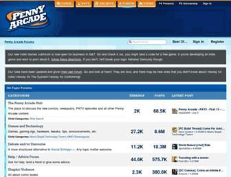 forums.penny-arcade.com screenshot