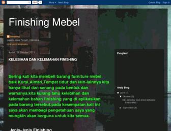 finishing-finishingmebel.blogspot.com screenshot