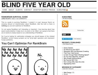 Thumbshot of Blindfiveyearold.com