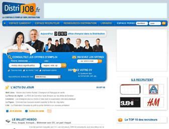 Thumbshot of Distrijob.fr