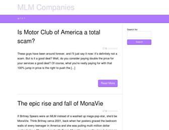 mlmcompanies.org screenshot