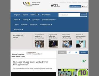 Thumbshot of Wptv.com