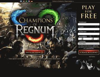Thumbshot of Championsofregnum.com