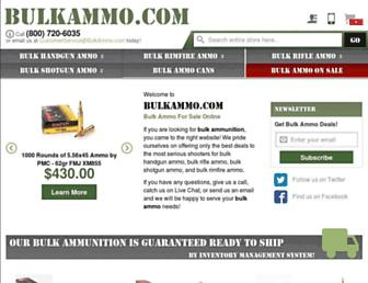 Thumbshot of Bulkammo.com