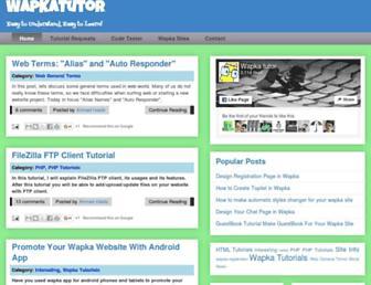wapkatutor.blogspot.com screenshot