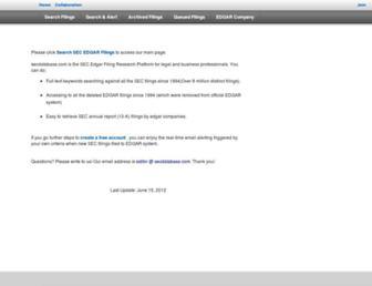 pdf.secdatabase.com screenshot