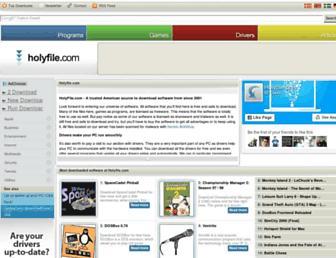 holyfile.com screenshot