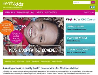 Thumbshot of Healthykids.org
