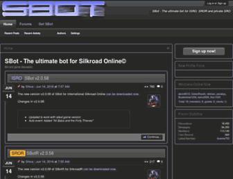 bot-cave.net screenshot