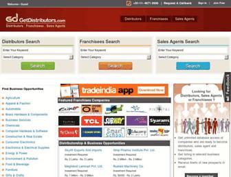 getdistributors.com screenshot