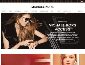 michaelkors.ca screenshot