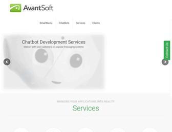 avantsoft.com screenshot