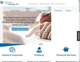 honan.com.au screenshot