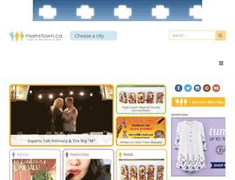 momstown.ca screenshot