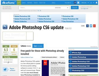 adobe-photoshop-cs6-update.en.softonic.com screenshot