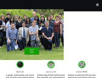 ucibiomems.net screenshot