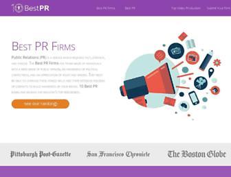10bestpr.com screenshot