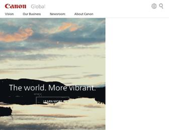 Thumbshot of Canon.com