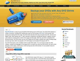 any-dvd-shrink.com screenshot