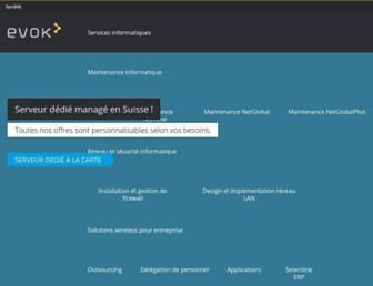 evok.com screenshot