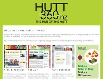 hutt360.co.nz screenshot