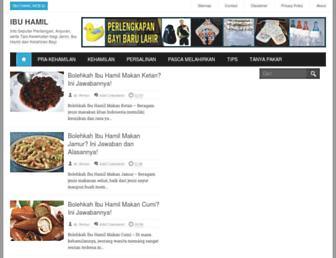 ibu-hamil.web.id screenshot