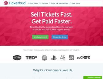 ticketbud.com screenshot