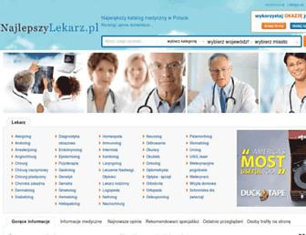 najlepszylekarz.pl screenshot