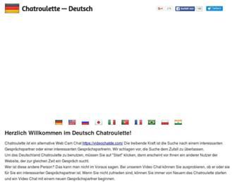 chat-de.com screenshot