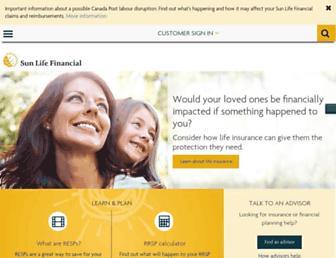 cdn.sunlife.com screenshot