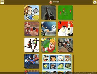 friv55.com screenshot