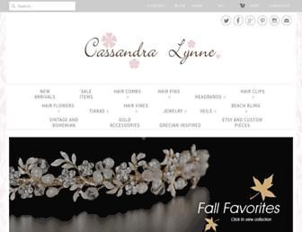 cassandralynne.com screenshot