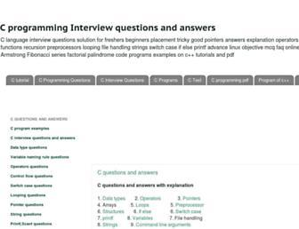 cquestions.com screenshot