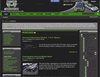 cmsracing.com screenshot