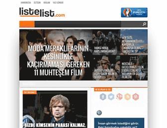 listelist.com screenshot