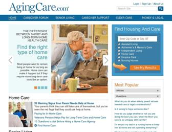 Thumbshot of Agingcare.com