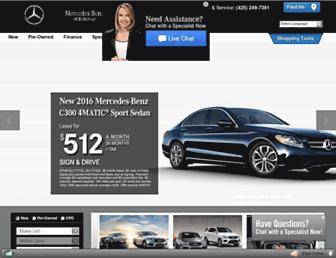 mercedesbenzofbellevue.com screenshot