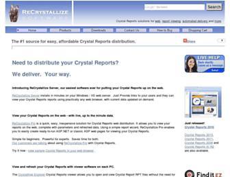 recrystallize.com screenshot