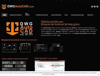 dwgautocad.com screenshot