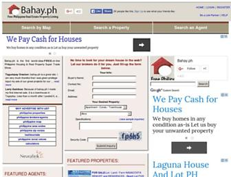 bahay.ph screenshot