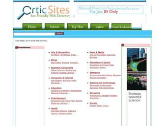 Thumbshot of Criticsites.com