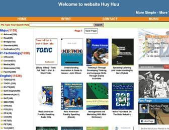 huyhuu.com screenshot